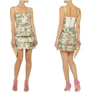 Alice & Olivia Silk Blend Strapless Dress 4